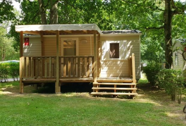 Mobil Home ESTVAL 2 chambres Camping Camping de Maillac.