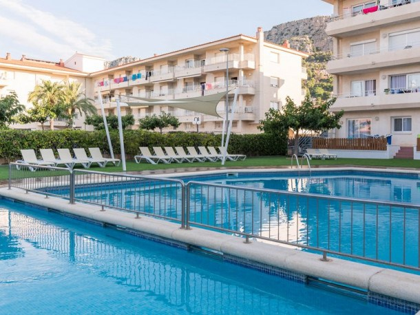 Location vacances Torroella de Montgrí -  Appartement - 6 personnes - Table de ping-pong - Photo N° 1
