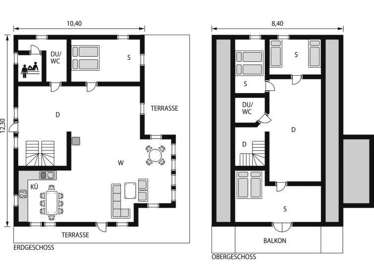 Maison pour 8 à Arnafjord