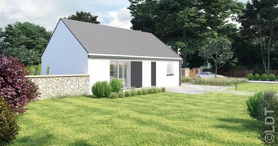 Maison  3 pièces + Terrain 1000 m² Feuillie (la) par L.D.T BEAUVAIS
