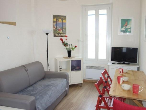 Location vacances La Ciotat -  Appartement - 3 personnes - Télévision - Photo N° 1