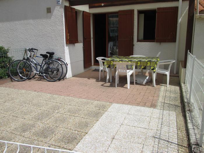 Terrasse 30 m2 clôturée