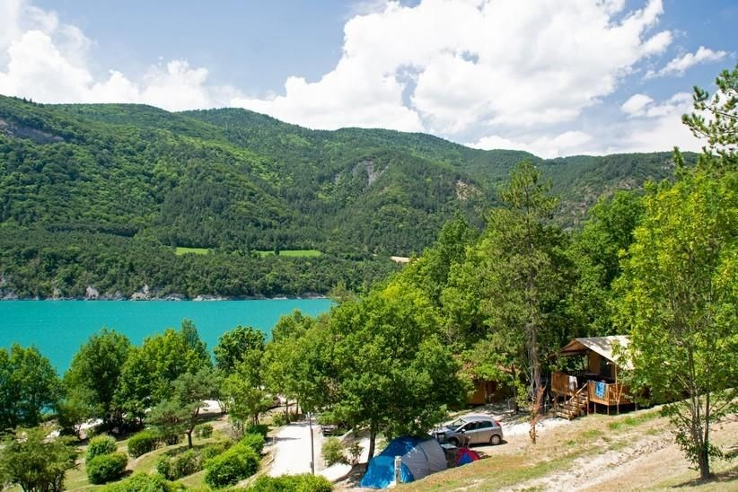 Camping de Savel, 80 emplacements, 18 locatifs