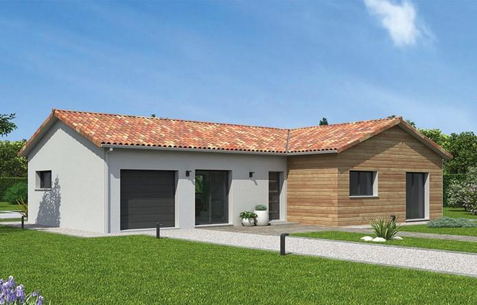 Maison  6 pièces + Terrain 1244 m² Geste par MAISONS NATILIA