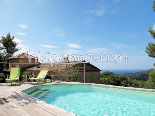 Location vacances La Cadière-d'Azur -  Appartement - 4 personnes - Télévision - Photo N° 1