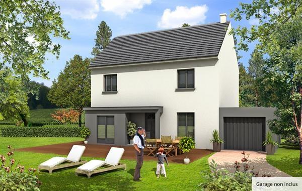 Maison  5 pièces + Terrain 225 m² Coignières (78310) par MAISONS BARILLEAU