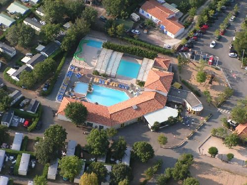 Camping OLERON LOISIRS - MH 2ch 5/6pers 24m² + Terrasse Couverte