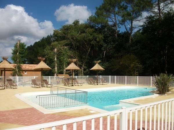 piscine chauffée du parc