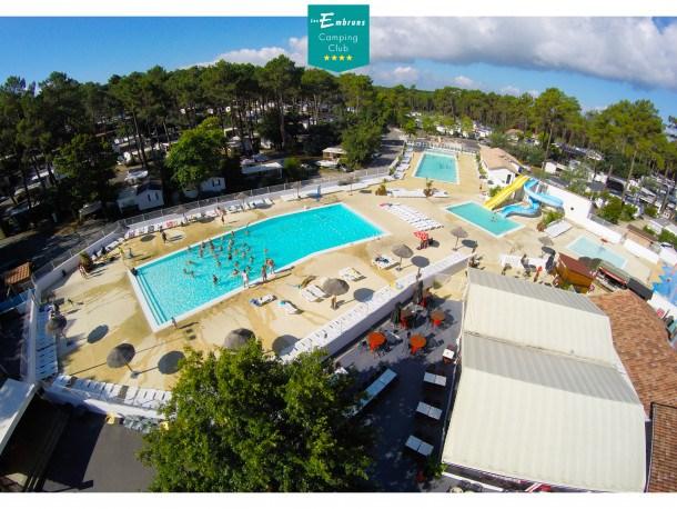 Location vacances Lège-Cap-Ferret -  Maison - 7 personnes - Salon de jardin - Photo N° 1