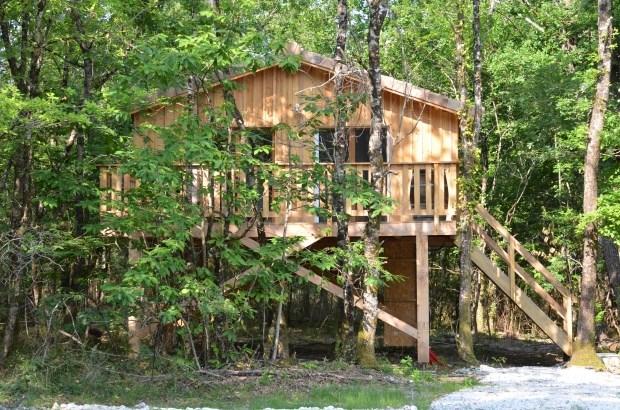 Les cabanes de Sarah : gîtes perchés au coeur de la forêt - Cabanac-et-Villagrains