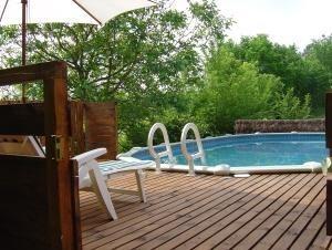 pour 9 pers. avec piscine privée, Saint-Martin-de-Ribérac