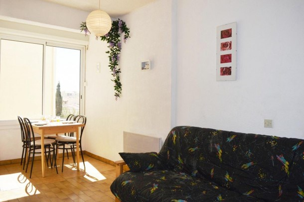 Appartement Studio, 2 couchages, Narbonne Plage