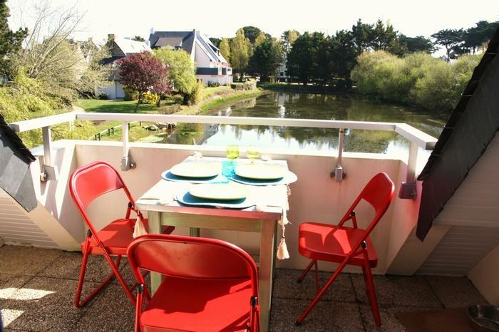 Location vacances Carnac -  Appartement - 2 personnes - Salon de jardin - Photo N° 1