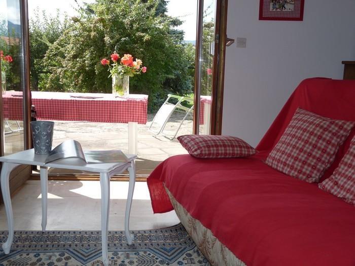 photo salon séjour et terrasse