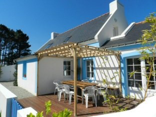Holiday rentals Locmaria - House - 10 persons - BBQ - Photo N° 1