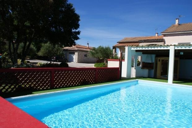 Gîte Chrysophil 8 chambres Piscine au sel chauffée, Sauna, Spa, classé 3 étoiles sud Ardèche - Grospierres