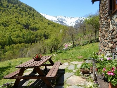 Location vacances Auzat -  Gite - 4 personnes - Barbecue - Photo N° 1