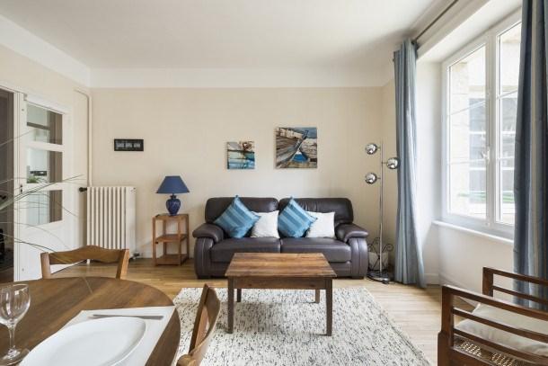 Location vacances Saint-Malo -  Appartement - 3 personnes - Lecteur DVD - Photo N° 1
