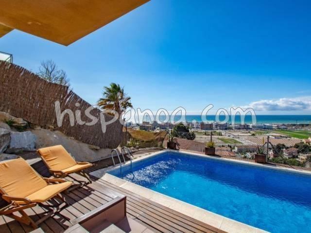 Location vacances Santa Susanna -  Maison - 8 personnes - Terrasse - Photo N° 1