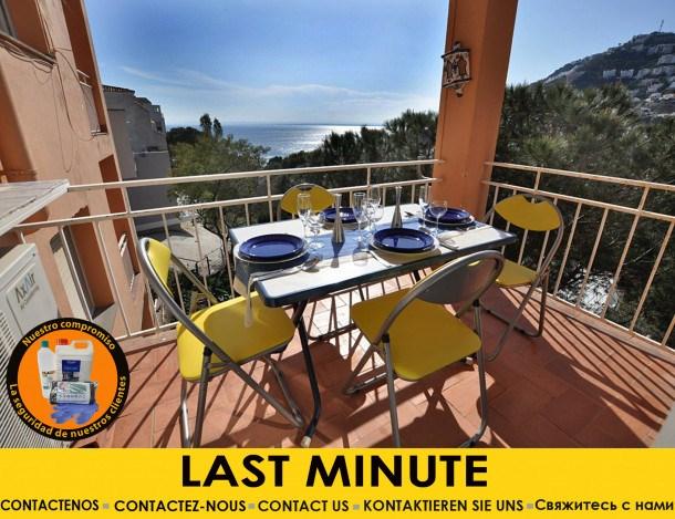 Location vacances Rosas -  Appartement - 8 personnes - Câble / satellite - Photo N° 1