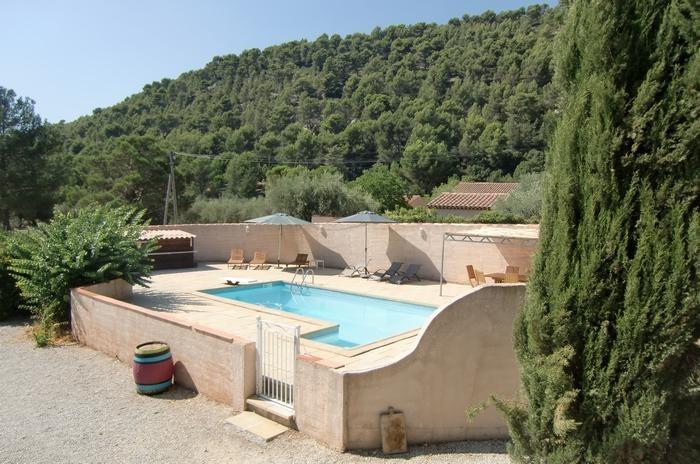 Appartement pour 4 pers. avec piscine, Cuges-les-Pins