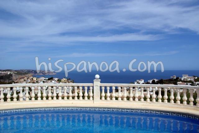 A louer pour les vacances - Villa vue mer Costa Blanca