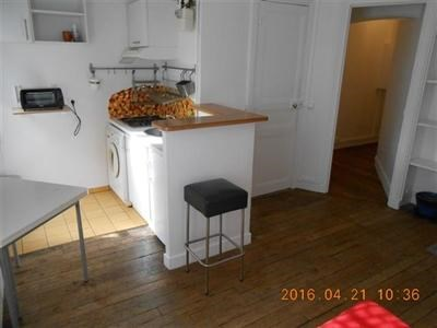 T2, meublé, 1er étage, cour arborée, cuisine équipée - Paris 18ème (75018)-5