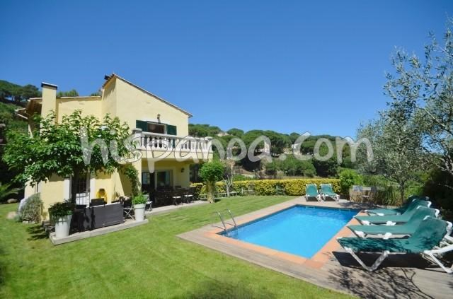 Location vacances Begur -  Maison - 10 personnes - Barbecue - Photo N° 1