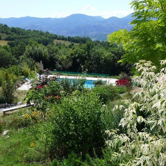 Appartement pour 6 pers. avec piscine privée, Lardier-et-Valença