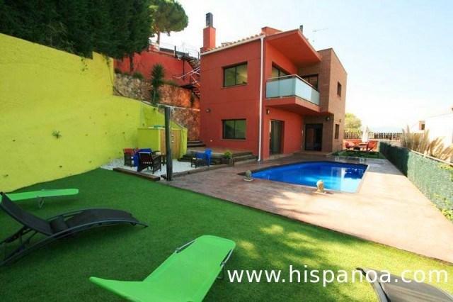 Location vacances Espagne avec piscine  - Villa à Blanes proche plage | ab