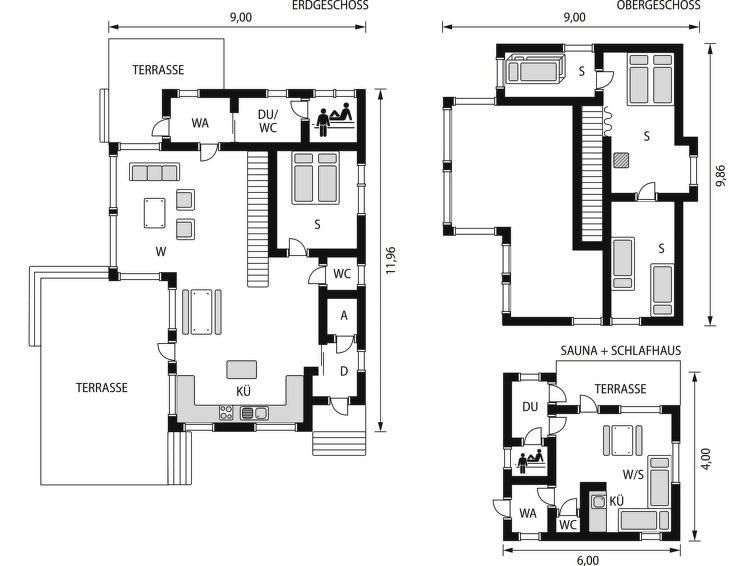 Maison pour 9 à Kuopio