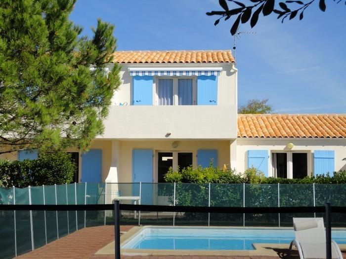 Appartement pour 4 pers. avec piscine, Saint-Palais-sur-Mer