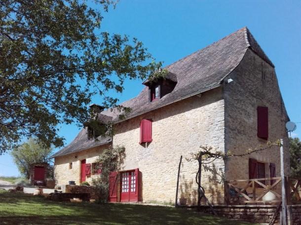 Location vacances Saint-Amand-de-Coly -  Maison - 6 personnes - Barbecue - Photo N° 1