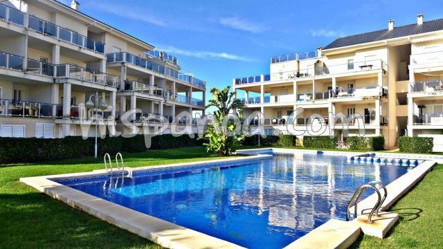 Location grand appartement proche plage sur la Costa Blanca |dup3030