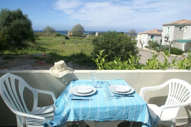 Location vacances Algajola -  Appartement - 2 personnes - Barbecue - Photo N° 1