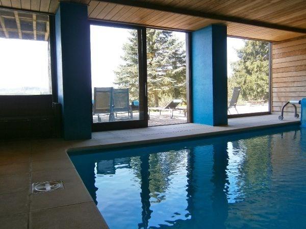 chalet*****style savoyard, vue panoramique, piscine & sauna