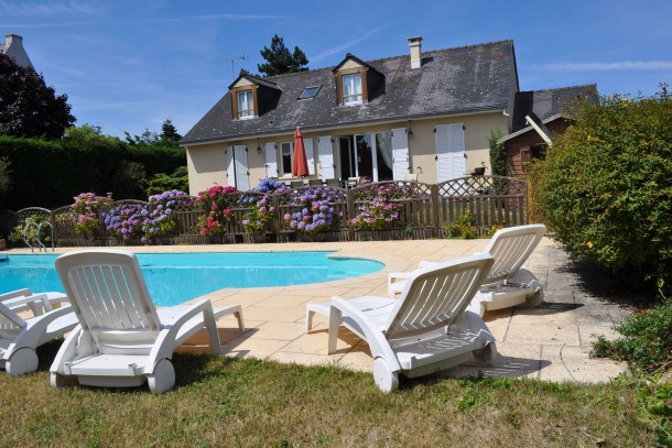 Location vacances Cancale -  Maison - 10 personnes - Barbecue - Photo N° 1
