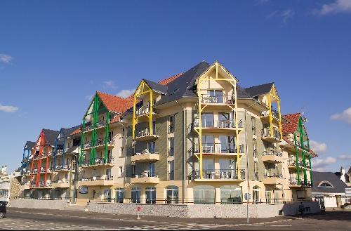 Location vacances Cayeux-sur-Mer -  Appartement - 4 personnes - Salon de jardin - Photo N° 1