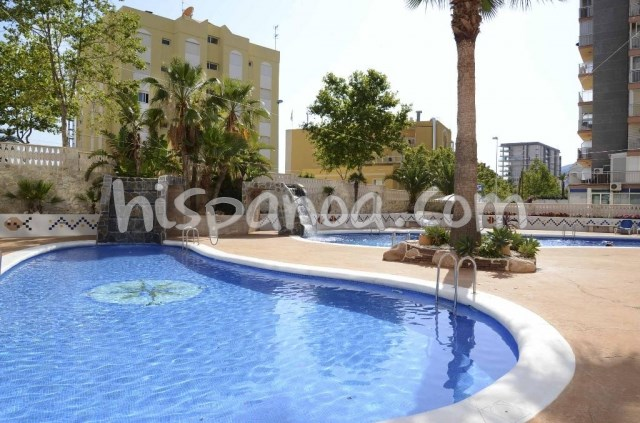 Location vacances Calp -  Appartement - 6 personnes - Salon de jardin - Photo N° 1