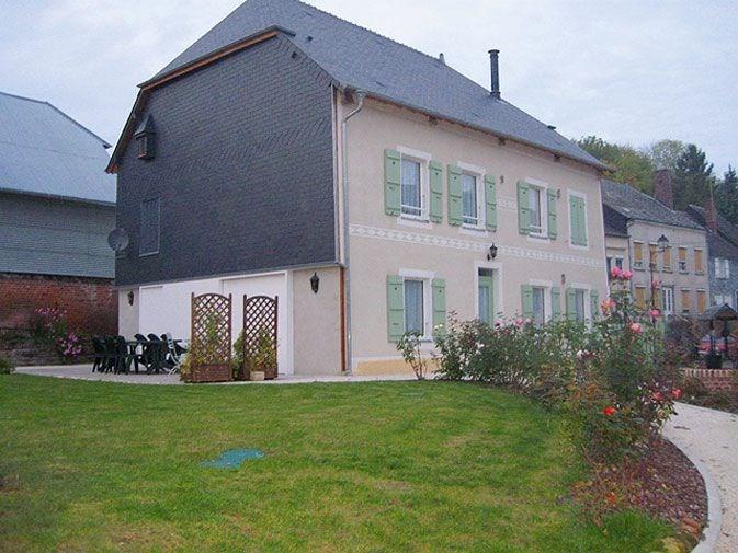 Gîte n°369 à Chaumont-Porcien - à 20 km de Rethel. Maison indépendante.