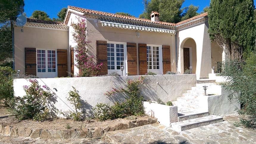 villa Bormes-lavandou a partir 800€