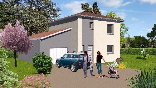 Maison  5 pièces + Terrain 596 m² Taluyers par BV AMENAGEMENT