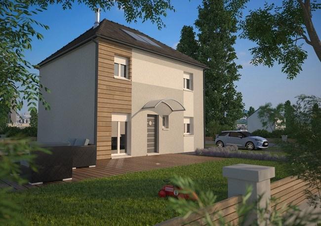 Maison  5 pièces + Terrain 250 m² Herblay par MAISONS EVOLUTION CONFLANS-SAINTE-HONORINE
