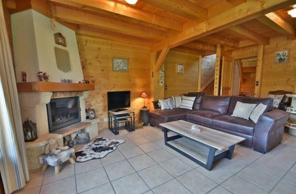 Chalet mitoyen, 8 pers, 4 chambres, terrasse, magnifique vue, wifi!