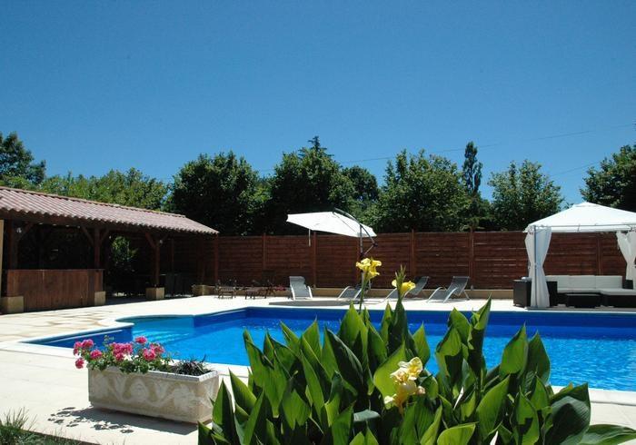 Poolhouse avec piscine14mx7m