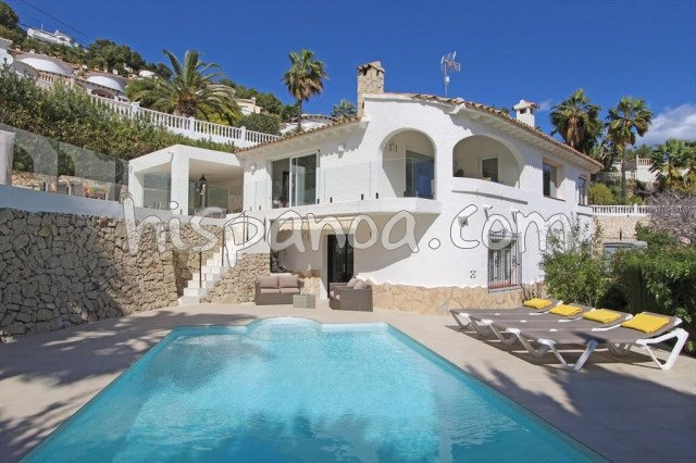 House for 10 ppl. with pool, Teulada