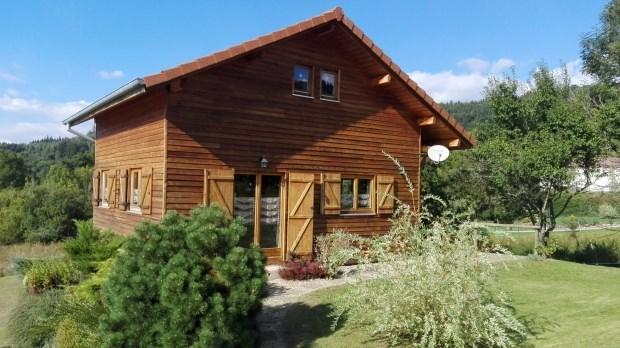 Location d'un chalet à Clefcy dans les Vosges : ) - Ban-sur-Meurthe-Clefcy
