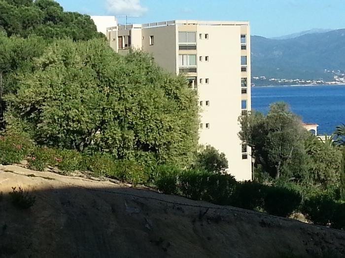 vue parc et mer,prise de la terrasse