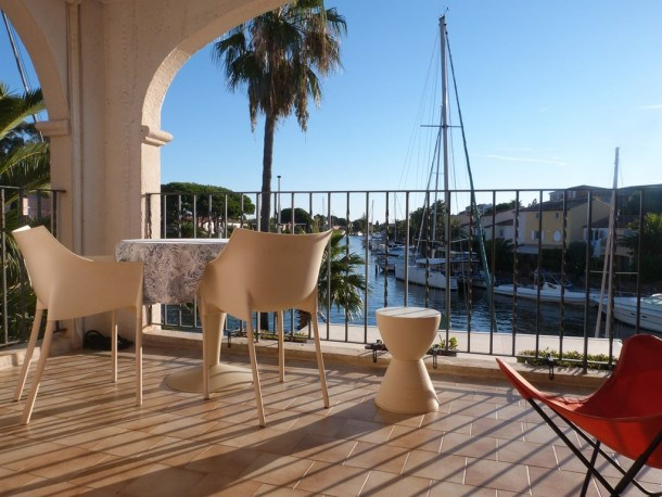 Location vacances Cogolin -  Appartement - 3 personnes - Terrasse - Photo N° 1