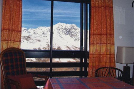 Vue panoramique du séjour